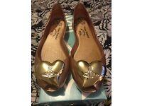 Authentic SS17 Vivienne Westwood Orb shoes size6