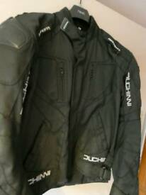 DUTCHINNI Motorcycle Jacket with removable thermal lining ,body armour and waterproof
