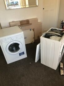 2 scrap washing machines