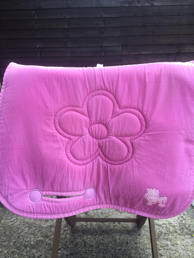 Saddle padin Antrim Road, BelfastGumtree - Pretty cottage craft baby pink saddle pad. Cob. Texts or emails only please