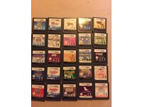 25 x Nintendo Ds Games, cartridges only