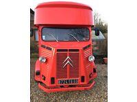 Vintage Citroen HY Van Catering Vehicle
