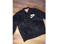 Japanese Nike Bomber Jacket ( Size L )
