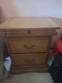 Bedside table for sale