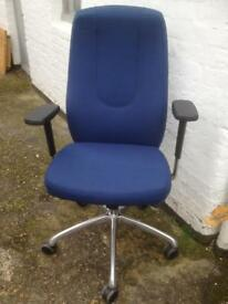 Office operators high back boss chair