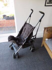 Child's Silver Cross Buggy