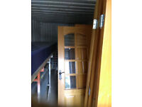 Reclaimed oak doors