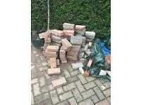 NO LONGER AVAILABLE Free bricks - driveway. Approx 150.