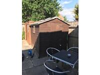 7x5ft garden shed