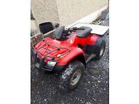 Honda Trx 250 quad