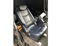 Leather van seats x3 inc sub frame