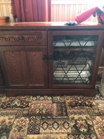 Stereo cabinte and tv cabinet