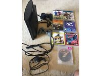 PlayStation 3 Slim 500gb + 2 Controllers + HDMI Cable + 7 Games