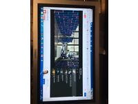 """LG 32"""" Flat Screen monitor with Speaker system"""