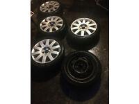 Alloys and tyres Nissan Primera 17