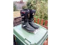 Sidi courier motorcycle boots size 9.5