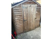 Large Wooden Shed