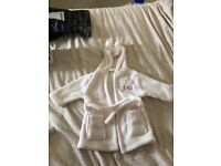First years baby robe
