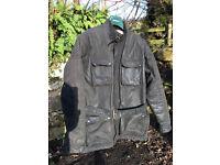 Wax cotton trailmaster motorcycle jacket (Not Belstaff or Barbour)