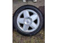 Alloys wheels and tyres renaut
