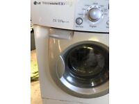 LG washer drier front loading not needed as moving , ready to go