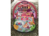 Fisher-Price Kick and Play Piano Baby Playmat Baby Gym PINK