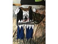 Age 11-12 wolf Halloween costume