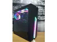 GAMING PC Ryzen 2600, Radeon RX580 8GB, 16GB DDR4, 240GB SSD, 1TB HDD, WIN10