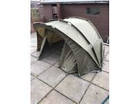 Armadillo fishing tent/bivvy