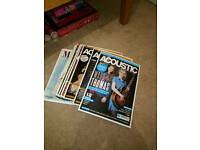 Acoustic guitar magazines up to latest issue bargain !