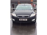 2008 FORD MONDEO ECONETIC TDCI 125 BLACK Recently Fitted New Clutch & Belts