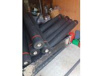 Pond pool underlay 10 rolls at 45sqm each roll Brand new