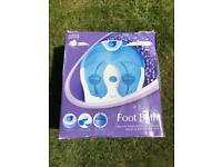 Marks and Spencer Deluxe foot bath / Foot Spa