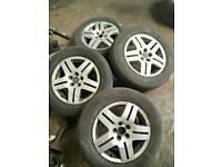 Alloy wheels alloys vw golf mk4 skoda mk1