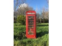 Refurbished Antique Phone-boxes