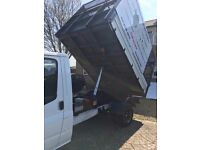 Ford Transit Caged Tipper Van
