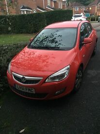 Vauxhall Astra... 1.4l.. Red