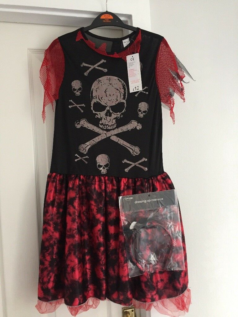 girls halloween costume age 11-12 | in burton-on-trent