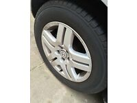 Volkswagen Golf mk4 Gti alloys with new tyres