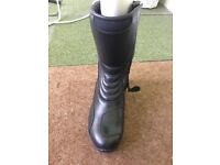 Motorcycle boots ladies size 3