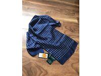 Ralph Lauren scarf, 100% silk