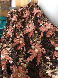 FREE. Very long single lined curtain