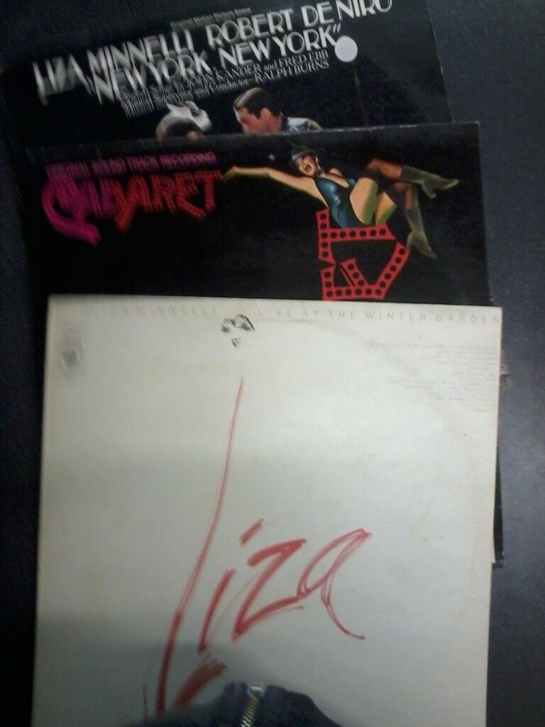 3 Liza Minnelli Vinyl Albums