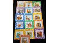 Set of 16 Winnie-the-Pooh books