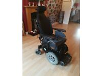 Days electric wheelchair, reclining, padded