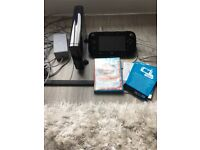 Nintendo Wii U and 2 games