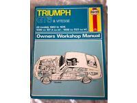 Triumph GT6 & Vitesse Owners Workshop Manual