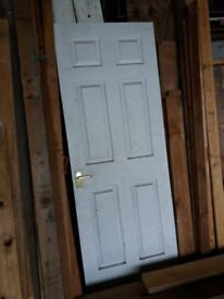 Interior door for sale with gold handle etc