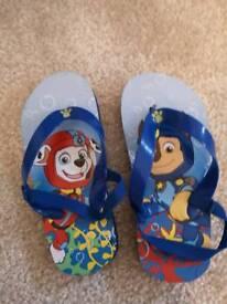 Paw Patrol Flip Flops