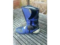 Motorcycle boots size 8 for sale